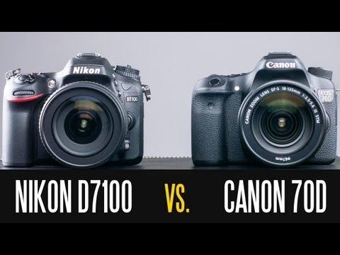 Canon Eos 70D Vs Nikon D7100 - Tam İçinde Derinlik Karşılaştırma