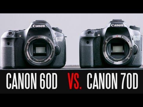 Canon 70D Canon 60D Tam Ayrıntılı Karşılaştırma Vs