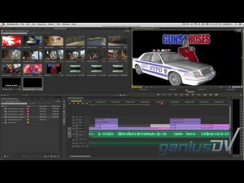 Adobe Premiere 3D Modelleri