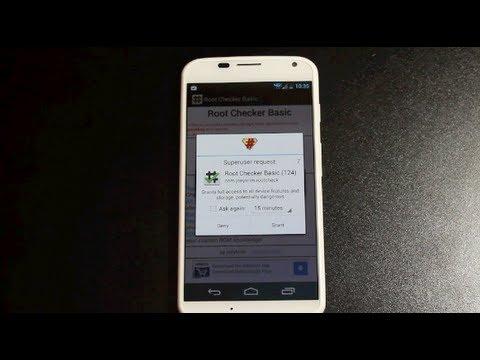 Nasıl Kök Verizon At&t Moto X Droid Ultra Maxx Mini Tek Bir Tıklama App!