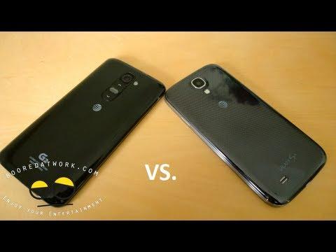 Tam Savaş Vid: Lg G2 Vs Samsung Galaxy S4
