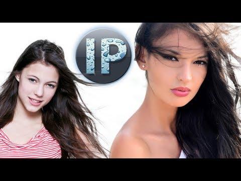 Adobe Photoshop Elements 11, 10 Kadın Saçları Rüzgarda Kaldırma