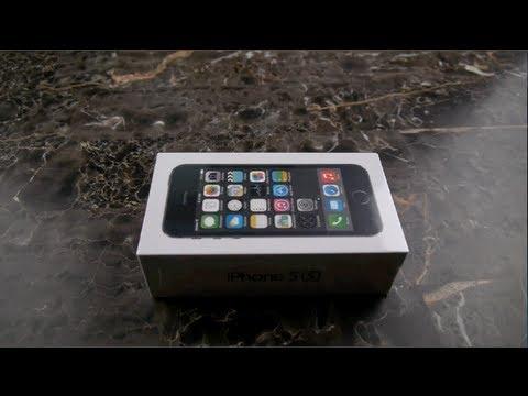 Apple İphone 5'ler Unboxing Ve İlk Bakmak