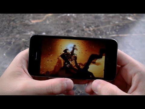 Infinity Blade 3 İçin İphone 5'ler Uygulamalı Oyun