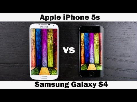 İphone 5'ler Vs Samsung Galaxy S4 Tam In-Depth Karşılaştırma