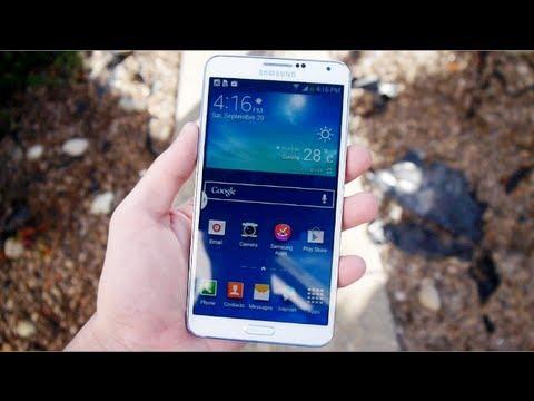 Samsung Galaxy Not 3 Dayanıklılık Damla Testi