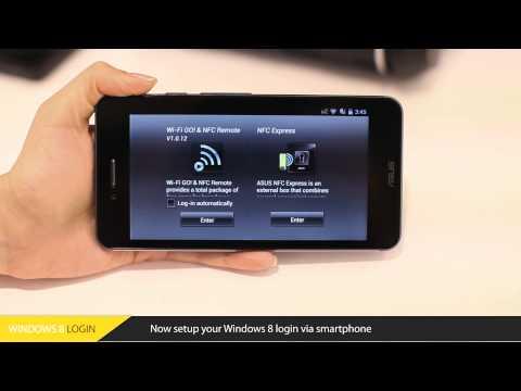 Asus Nfc Hızlı Bölüm 1: Kurulum Ve Windows 8 Giriş