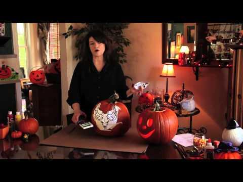 Nasıl Bir Kabak Bir Geyik Kafatası Çizmek İçin : Kabak Oyma Ve El Sanatları