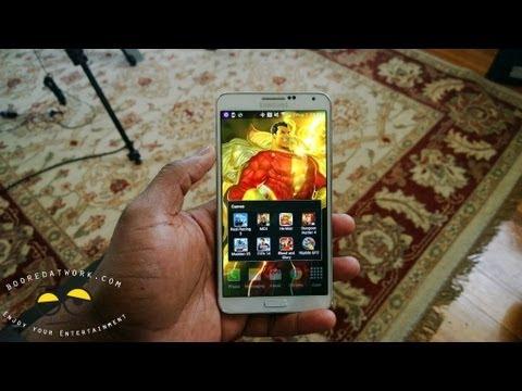 Samsung Galaxy Not 3 Oyun