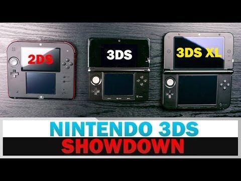 Nintendo 3Ds 3Ds Xl Vs Vs 2Ds
