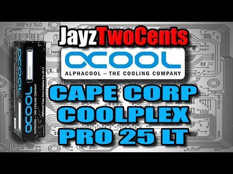 Alphacool Coolplex Pro 25 Lt Depo Unboxing Ve Gözden Geçirme