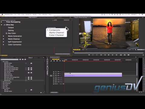 Adobe Premiere Chroma Key
