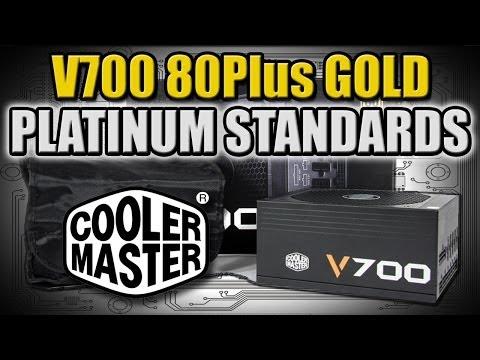 Altın Dekor Platin Standartları Geçen Psu?? -Cooler Master V700 Genel Bakış