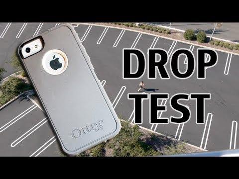 İphone 5'ler Otterbox Defans Damla Testten 100 Feet