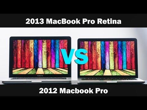 """2013 Macbook Pro Retina 13"""" Vs 2012 Macbook Pro 13"""" Tam Ayrıntılı Karşılaştırma"""