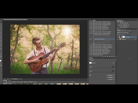 Şeffaf Işık Photoshop Bindirme Set