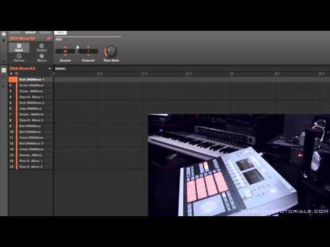 Maschine Nasıl Davul Yaymak İçin Kitleri Ve Klavye Arasında Maschine Studio İle Pirzola 2.0