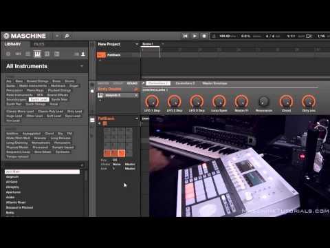 Maschine Studio 2.0 Nasıl Eklentileri Ve Aletler Maschine 2.0 Katmanı