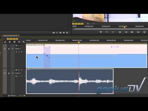 Adobe Premiere Hız Rampa Ve Sefer Stretch