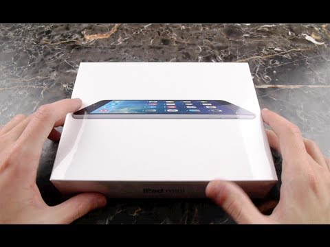 İpad Mini 2 (Retina Ekran) Unboxing Ve İlk Bak!