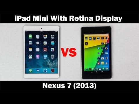 İpad Mini İle Retina Ekran Vs. Nexus 7 (2013) - Tam Ayrıntılı Karşılaştırma