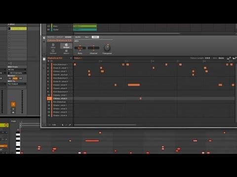 Maschine 2.0 Nasıl Mıdı Ableton Live 9 İçine Sürükleyip Bırakmak İçin
