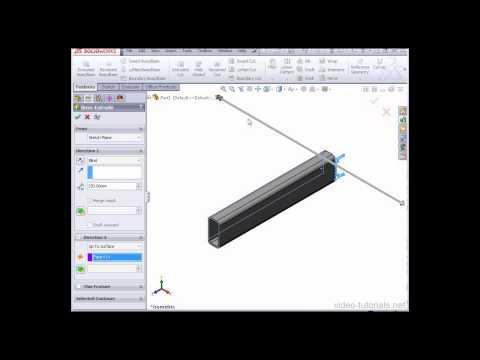 Solidworks 2013 Araç Videoları - Yapısal Çelik Aracı