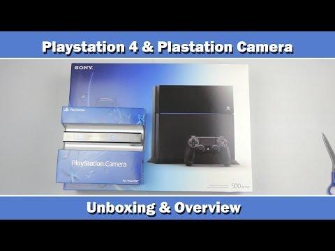 Sony Playstation 4 Konsol Ve Playstation Unboxing Kamera Ve Genel Bakış