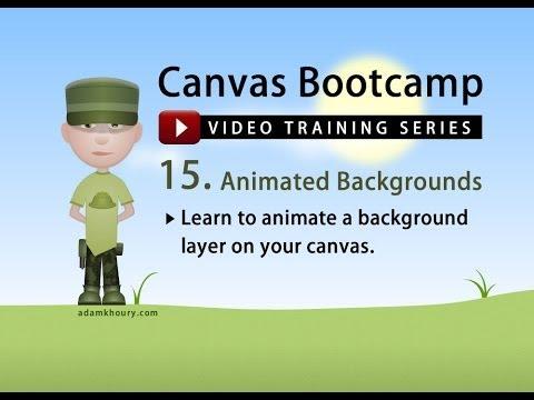 Bootcamp 15 - Animasyonlu Arka Plan Katmanlarının Tuval