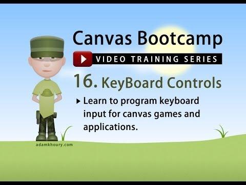 Bootcamp 16 - Klavye Kontrolü Ve Hareket Tuval
