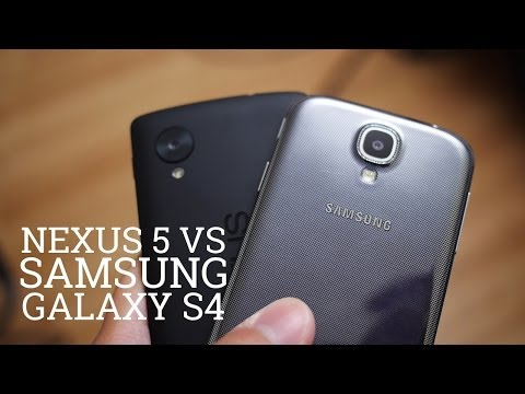 Nexus 5 Vs Samsung Galaxy S4