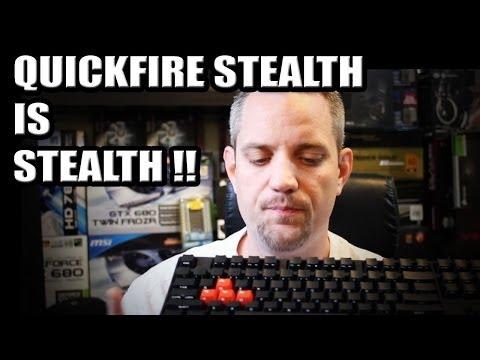 Cm Storm Quickfire Stealth Mekanik Klavye - Unboxing Ve Genel Bakış