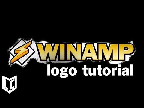 Nasıl Photoshop /speedart [Winamp Memorial] Winamp Logo Yapmak