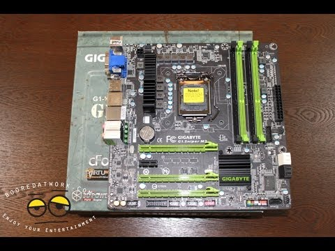 Gigabyte G1 Keskin Nişancı M3 Ivy Bridge Oyun Anakart İncelemesi