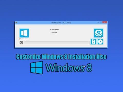 Windows 8 Yükleme Diski Özelleştirmek