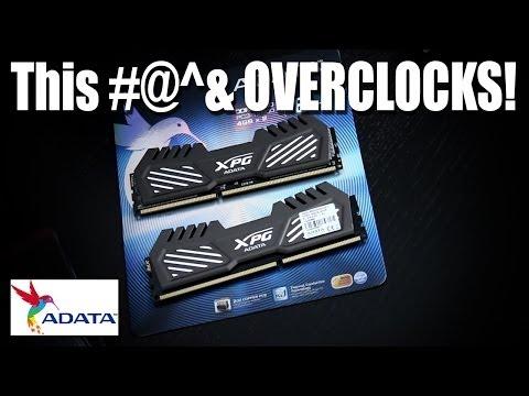 A-Data Xpg V2 Ram - Bunları Overclock Yapabilmektedir.
