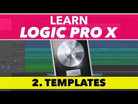 Mantık Pro Eğitimi - Şablonlar Ve Proje Özelliklerini X