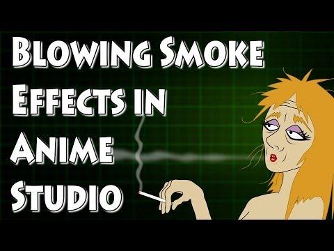 Anime Studio Duman Üfleme Hareketlendirme