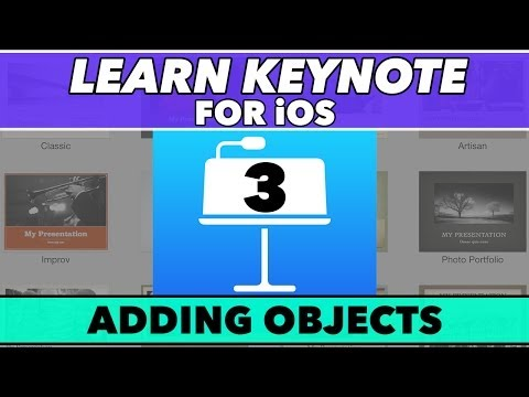 Keynote Ios Öğretici #3 - Nasıl İçin Nesne Ekle