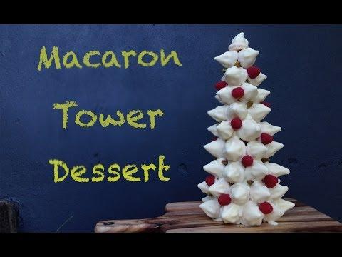 Çikolata Macaron Kule Tatlı Tarifi Nasıl Kime Yemek O Ann Reardon Ücretsiz Gluten