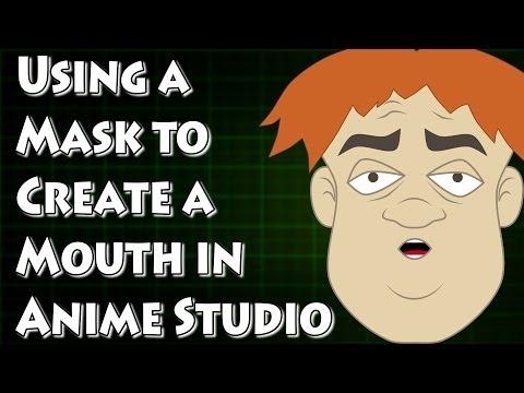 Bir Ağız Maskesi Anime Studio İle Oluşturma