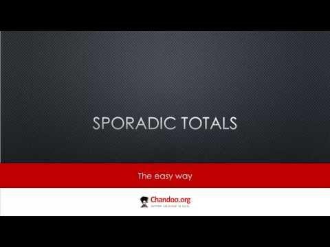 Excel'de Sporadik Toplamları Hesaplama | Exceltutorials
