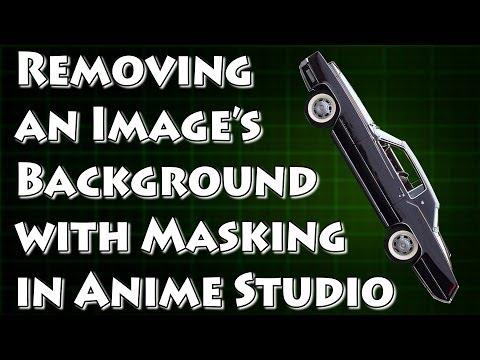 Bir Arka Plan Maskeleme Anime Studio İle Kesmek