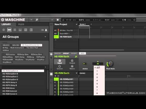 Ableton Live 9 Geçici Çözüm İçine Maschine 2.0 Studio Kayıt Mıdı