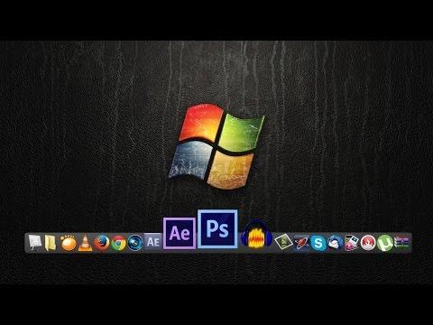 Cztutorıál - Mac Simgesi Dock Ve Windows 7