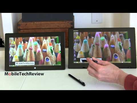 Sony Vaıo Dokunun 11 Microsoft Surface Pro 2 Karşılaştırma Smackdown Vs