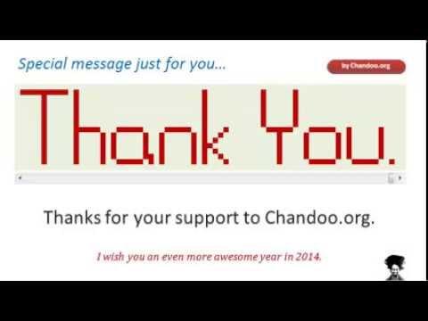 Desteğiniz İçin Teşekkür Ederiz. Dilek Sen Bir Awesome 2014 | Exceltutorials