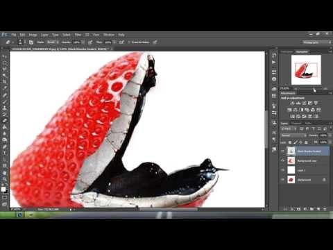 Öğretici Photoshop Manipulasi Değil Dengan Strawbery