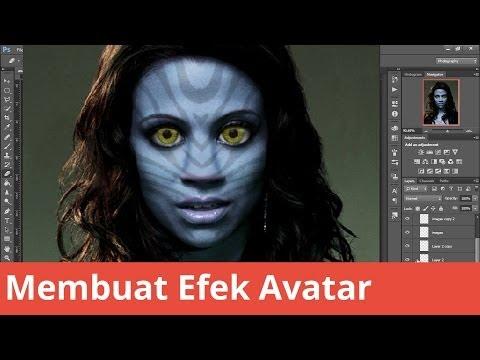 Öğretici Photoshop Membuat Efek Avatar
