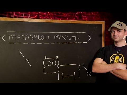 Metasploit - Metasploit Dakika Nedir